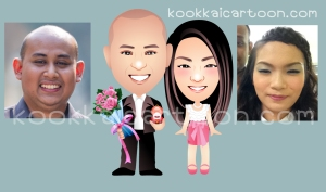 การ์ตูนคู่รัก, การ์ตูนงานแต่ง, การ์ตูนล้อเลียน, การ์ตูนคู่บ่าวสาวน่ารักๆ, wedding cartoon animation , การ์ตูนเคลื่อนไหวคู่บ่าวสาว, animation cartoon, การ์ตูนน่ารักคู่บ่าวสาว, marry cartoon, เซอร์ไพร์งานแต่ง, พรีเซนท์งานแต่ง, kookkaicartoon, กุ๊กไก่การ์ตูน, บิกิแบม, หมวย กุ๊กไก่การ์ตูน,การ์ตูนตั้งหน้างาน, stand cartoon, ป้ายการ์ตูนหน้างาน, ป้ายการ์ตุน, การ์ตูนงานแต่งราคาประหยัด, การ์ตูนราคาประหยัด, แต่งงานการ์ตูน, การ์ตูนแต่งงาน, การ์ตูนสุดฮิต, การ์ตูนสมัยใหม่, แบม ชัญญา
