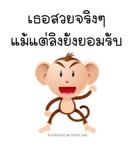 เธอสวยจริงๆ-แม้แต่ลิง-ยังยอมรับ