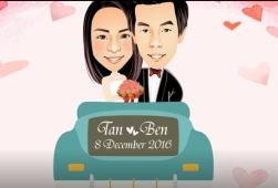 เรื่องราวการ์ตูนความรัก เบน ♥ ตาล 8 ธันวาคม 2559 การ์ตูนแนวสมจริง สวยงามค่ะ