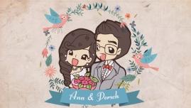 เรื่องราวการ์ตูนงานแต่ง ป๊อด ♥ แอน 8 มกราคม 2560 แนวการ์ตูนคอมมิคส์ น่ารักๆ