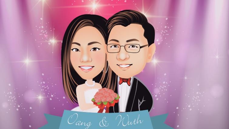 การ์ตูน, การ์ตูนคอมมิค, cartoon, wedding cartoon animation, presentation cartoon, รับทำการ์ตูนงานแต่ง, แต่งงาน, เรื่องราวความรัก